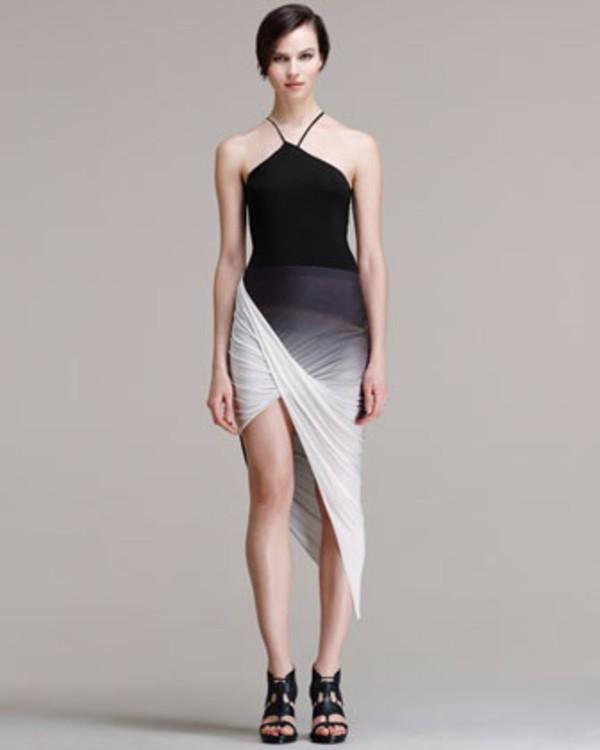 skirt asymmertical skirt