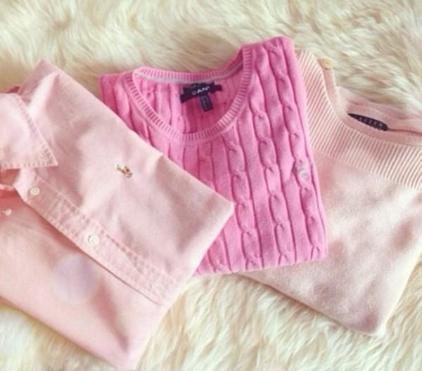 Ralph Lauren Pink Oxford Shirt Oxford Shirt in Bsr Pink