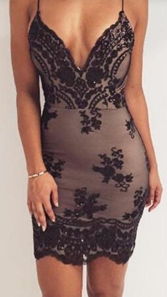 5614fc8ae507 dress black lace tight dress lace lace dress bodycon bodycon dress black  black lace black lace