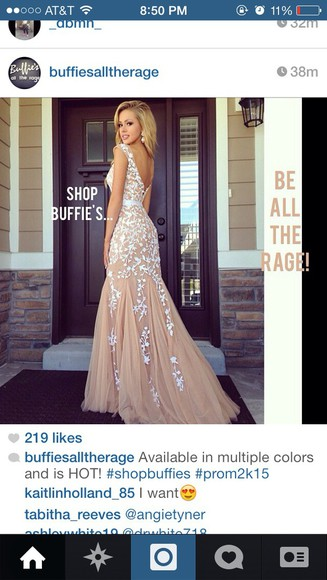 nude dress prom dress long prom dress