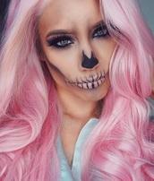 hair accessory,pink,wig,natural hair,pastell hair