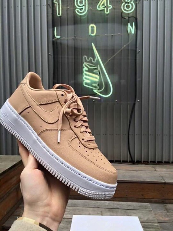 premium selection b0c4a 25e5a shoes nike air force 1 low top sneakers beige nike