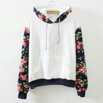 sweater flowers white top floral shirt warm sweater black pink red hoodie floral hoodie floral sweater floral floral sweatshirt bernard lafond hooded sweatshirt hooded sweater swearshirt white sweater white with floral jacket wihte flower shirt pullover shirt girly trendy white floral hoodie white floral cotton indie hipster jumper navy white print bag coat cute sweaters sweatshirt fashion cute kawaii casual fall outfits warm cozy winter outfits