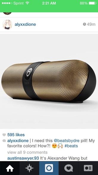 beats pills beats by dre technology speaker earphones