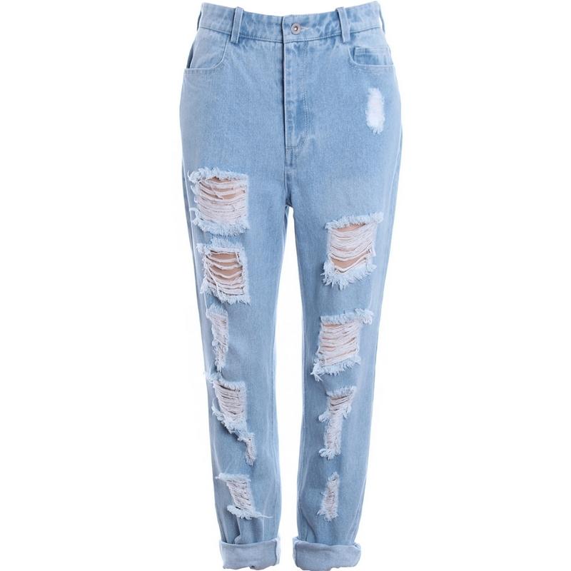 en pantalones de color azul de pantalones de moda en AliExpress.com