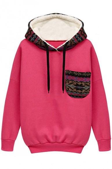 hoodie jumpsuit patterned sweater red hoodie