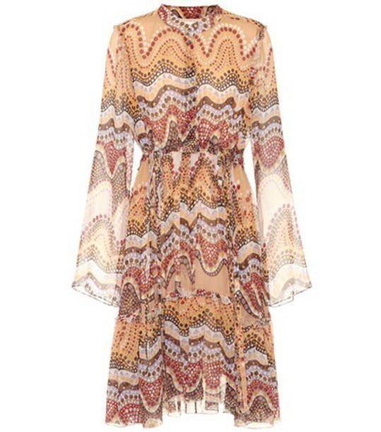 Chloe dress silk