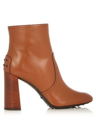 leather ankle boots boots ankle boots leather tan shoes
