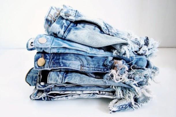 denim light blue shorts jeans