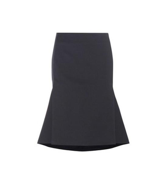Balenciaga Woollen Skirt in black
