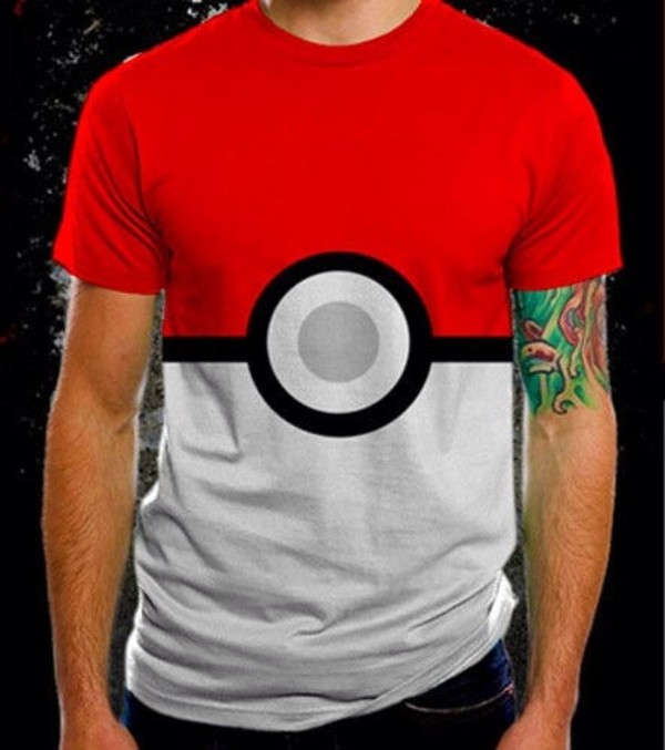 t-shirt pokemon