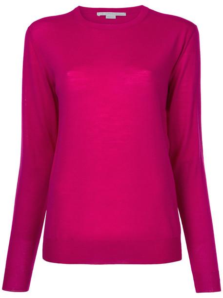 jumper women wool purple pink sweater