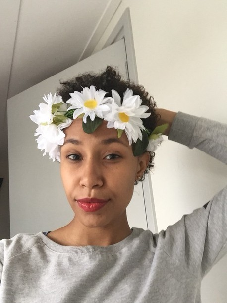 hair accessory flower crown