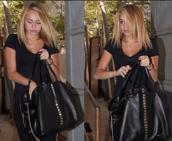 bag,black,miley cyrus