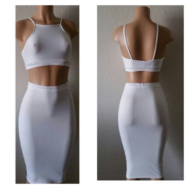 fc26c2cf8826 skirt, samanna chic, set, two-piece, bodycon set, summer, grey, grey ...