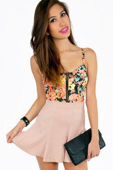 Friendly Floral Crop Top - Tobi