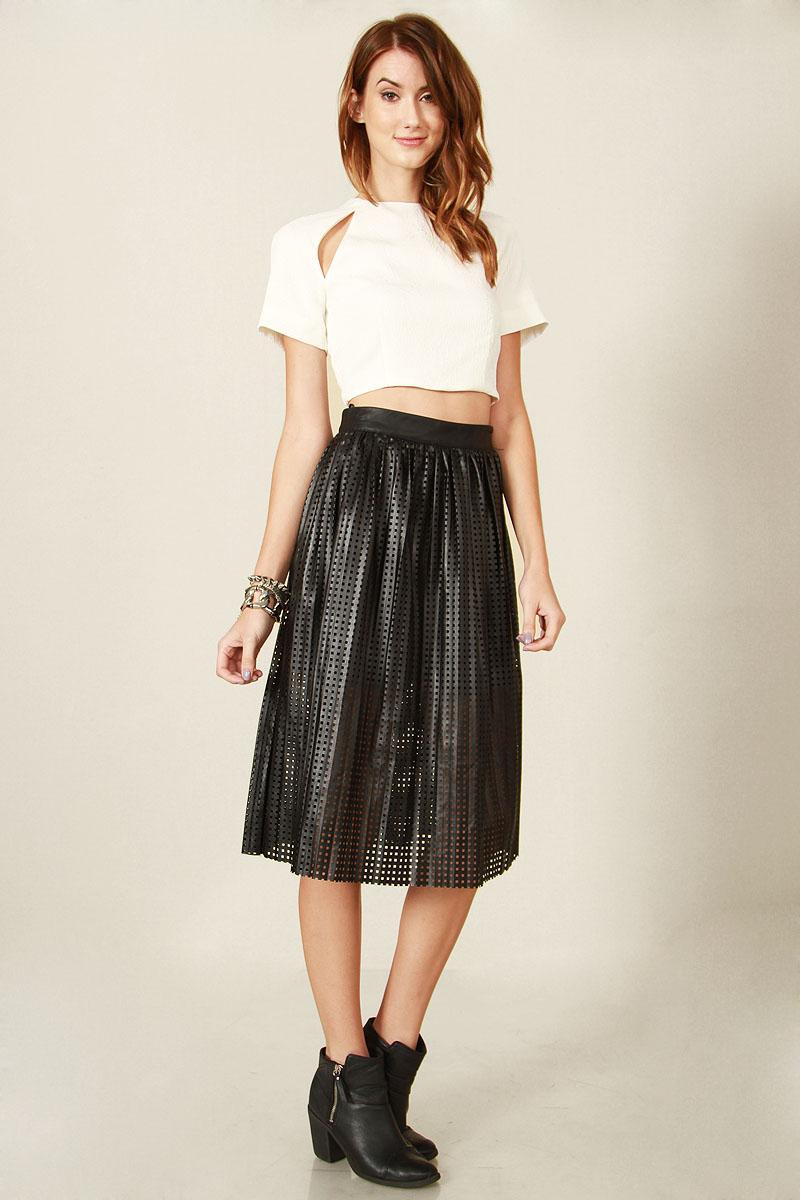 Game over black skirt · trendyish · online store powered by storenvy
