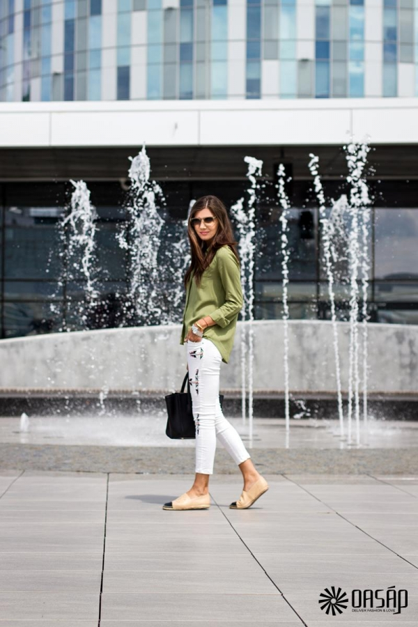 OL Lady Long Sleeves Shirt - OASAP.com