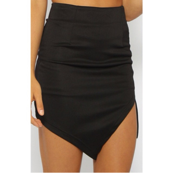 skirt high waisted bodycon