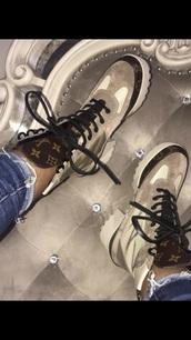 shoes,boots,combat boots,lv shoes,louis vuitton,lv boots