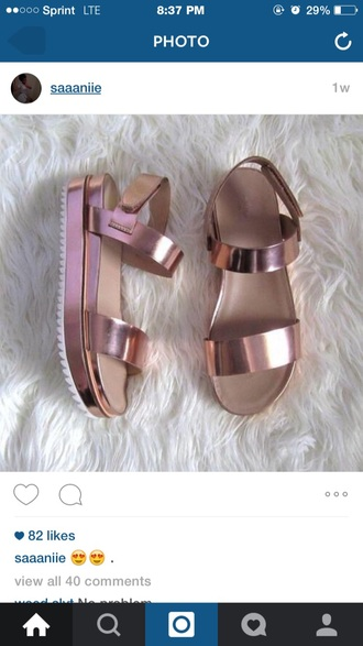 shoes sandals shoes metalic shoes metallic sandals with metal accent strappy flat gladiator sandals