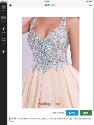 dress prom dress glitter dress
