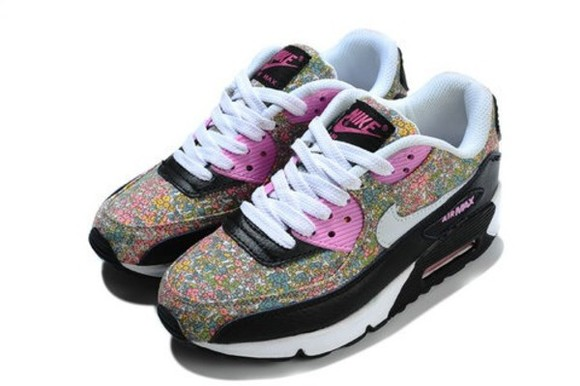 floral nike shoes nike air nike air max fashion