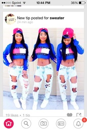 jeans,top,pink,blue,white,hat,t-shirt,shirt,trendy,ripped jeans,tommy hilfiger,shirts with sayings,light blue ripped skinny jeans,jacket,neon crop top