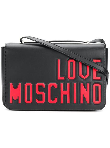 LOVE MOSCHINO women love bag shoulder bag black