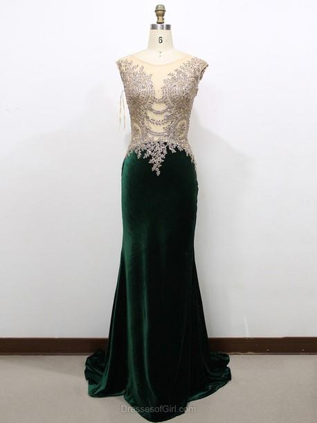 dress, prom, prom dress, green, green dress, emerald green, maxi ...