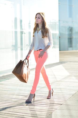 oh my vogue blouse jeans shoes bag jewels t-shirt nail polish