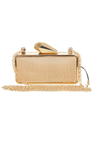 clutch gold bag