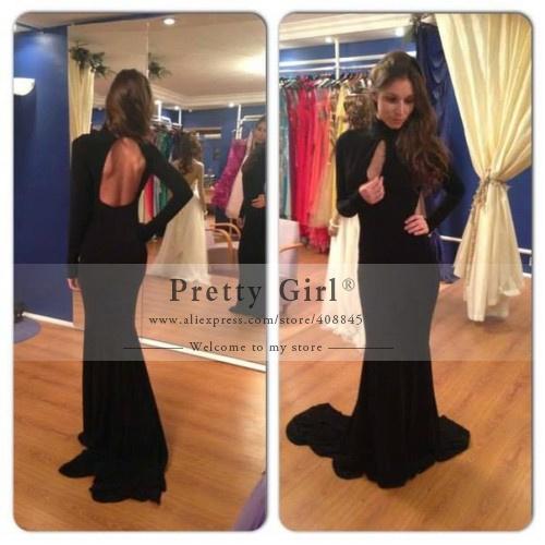 8a97762af1 Aliexpress.com   Buy Emma Watson Stuns In White Backless Halter Neck Off  Shoulder Side Slit Long Mermaid Celebrity Dress ...