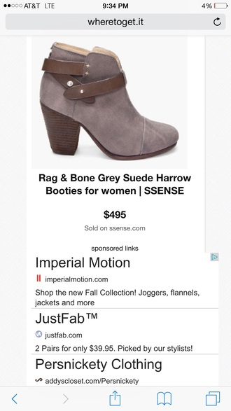 shoes gray bootie straps