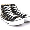 Studded all star high top chuck taylor converse black shoes shoe sneakers spiked