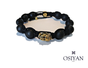 jewels,osiyan paris,buddha,gold,black,beaded,bracelets,menswear,women,unisex