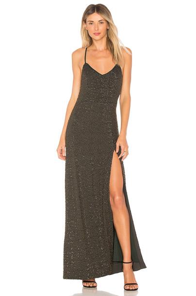 NBD dress maxi dress maxi teal