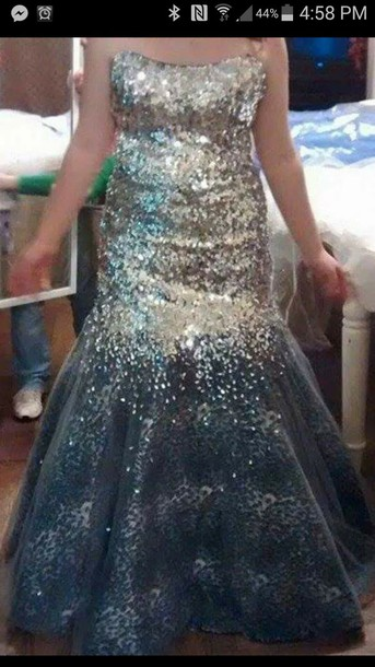 dress tiffany deigns mermaid prom dress