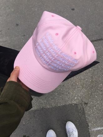 hat pink drake hotline bling 1800 hotline bling hotlineblinghat