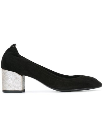 heel pumps black shoes