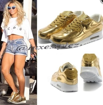 shoes beyonce stylish queen bee style urban outfitters gold metallic shoes nike air max air jordan matalic
