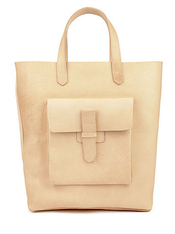 Sturdy Leather Tote | American Apparel
