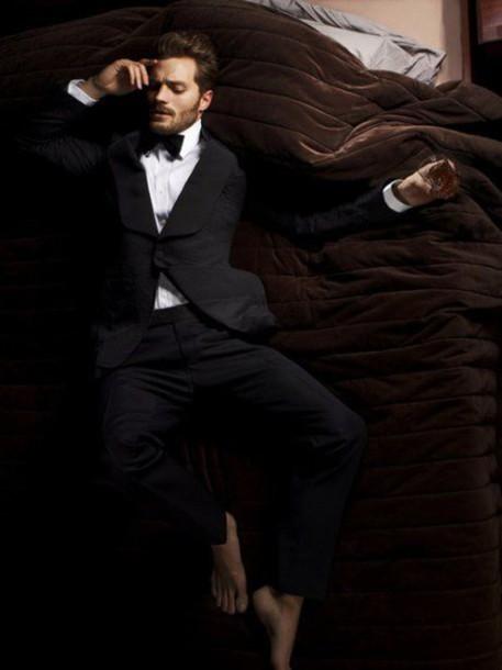 jacket mens suit prom menswear wedding clothes jamie dornan fifty shades of grey