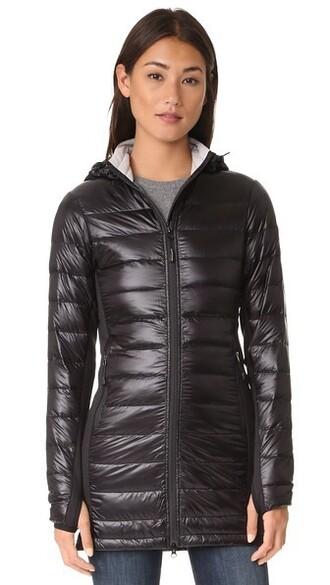 coat long coat long black