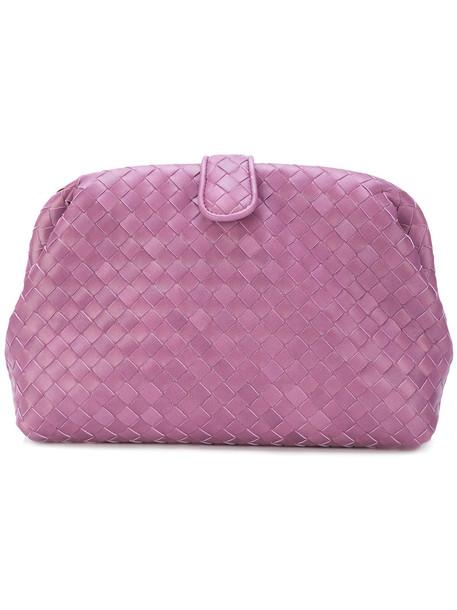 women bag clutch purple pink