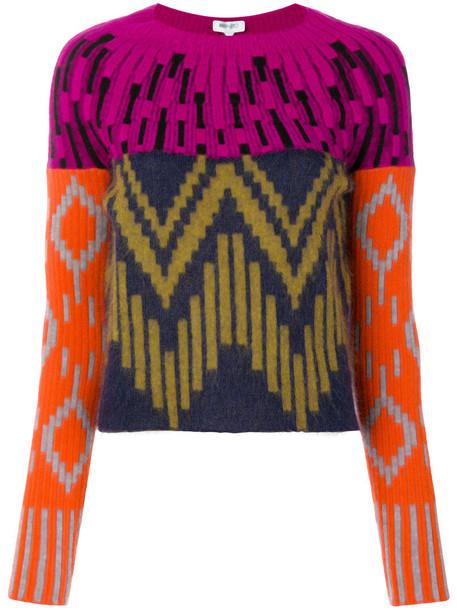 sweater patterned sweater women mohair wool