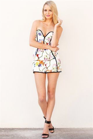 Birds of a Feather Playsuit