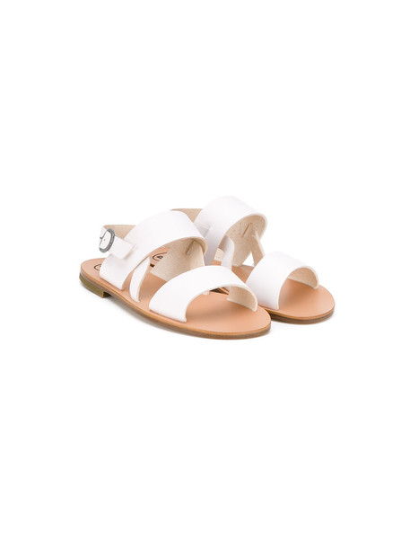 PePe sandals leather white shoes