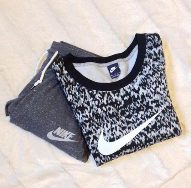 blouse top nike sportswear black