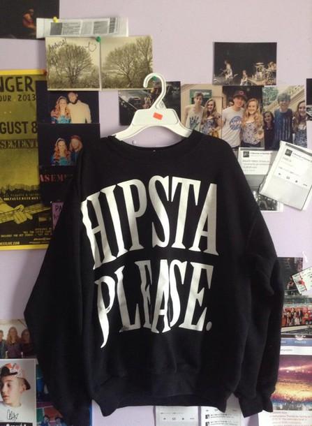 sweater hipstasweatshirt
